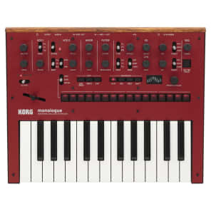 Korg - Monologue Red: Analogue Monophonic Synthesizer