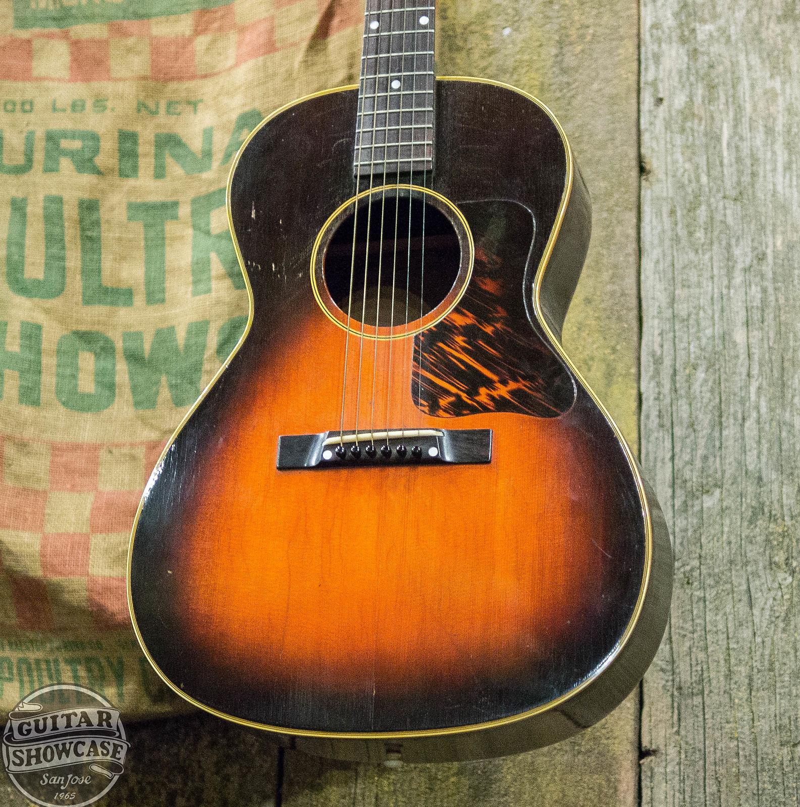 21feda87797 Gibson 1942 L-00 Vintage Acoustic Guitar Sunburst $5995 Very Good