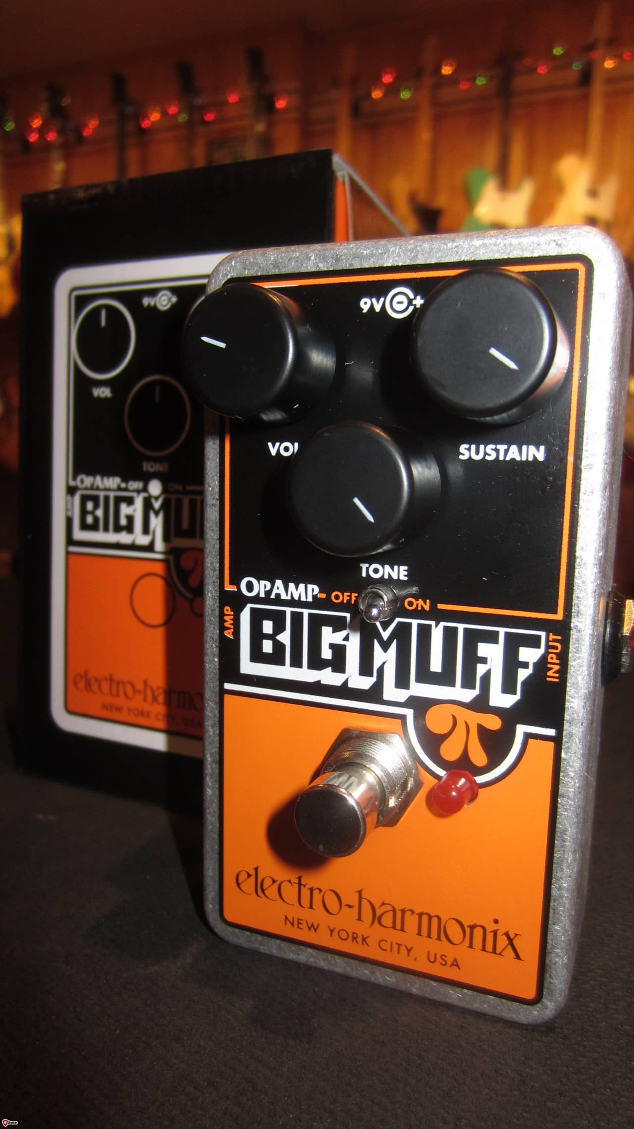 new electro harmonix op amp big muff pi rivington guitars reverb. Black Bedroom Furniture Sets. Home Design Ideas