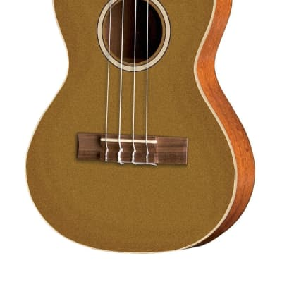 VGS Tenor E-Akustik Ukulele Manoa Roadie R-TE-CE Gold for sale