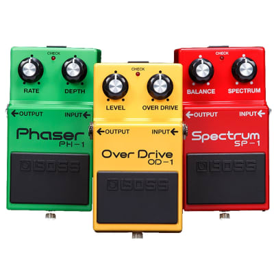 BOSS BOX-40 - 40th Anniversary Box Set (Includes OD-1 Overdrive, PH-1 Phaser, and SP-1 Spectrum)