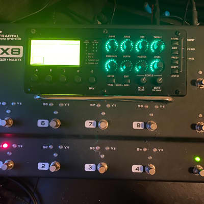 Fractal Audio AX8 2019 with case