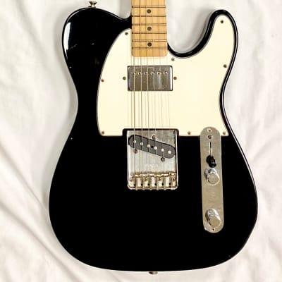 Fender California Series Fat Telecaster 1997 Black for sale