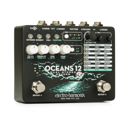 Electro-Harmonix Oceans 12 | Dual Stereo Reverb. New with Full Warramty!