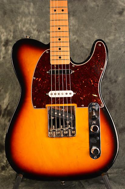 Fender Deluxe Nashville Telecaster 3 pickup 1999 Sunburst W | Reverb