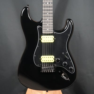 Eklein/Flaxwood Black Stratocaster Guitar for sale