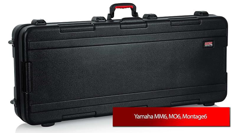 gator keyboard case for yamaha mm6 mo6 montage6 reverb. Black Bedroom Furniture Sets. Home Design Ideas