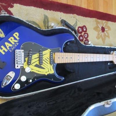 Fender Stratocaster 1999 Blue - Custom Harp Lager Paint