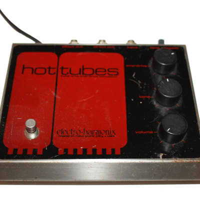 Electro-Harmonix Vintage Hot Tubes Vintage Overdrive Effects Pedal for sale