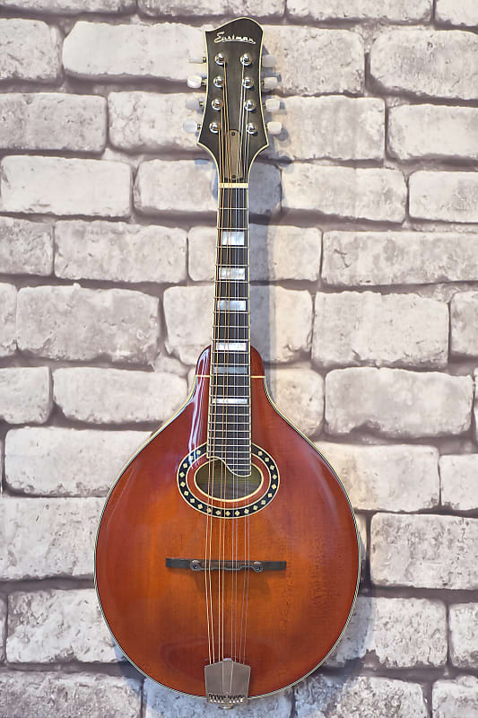 Eastman 604 A-Style Oval Hole Mandolin with K&K Twin Pickup