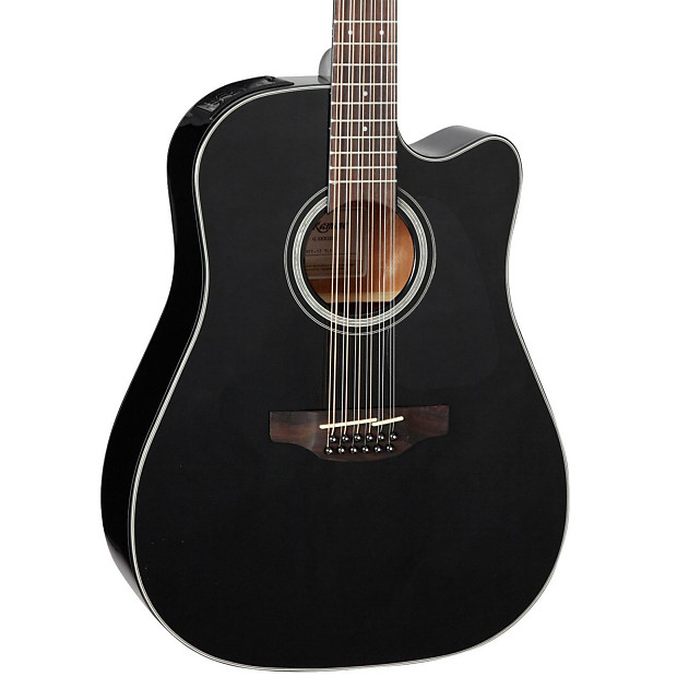 takamine g series gd30ce12blk dreadnought acoustic electric reverb. Black Bedroom Furniture Sets. Home Design Ideas