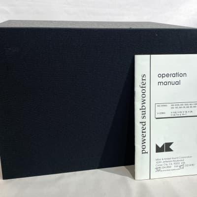 Miller & Kreisel VX-7 Subwoofer Black w/ Original Manual