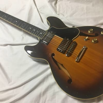 YAMAHA SA-1200s semi hollow Japan vintage