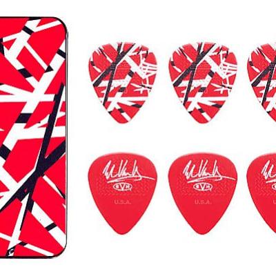 Eddie Van Halen Guitar Picks EVH Frankenstein Max Grip Pick Tin Collectible