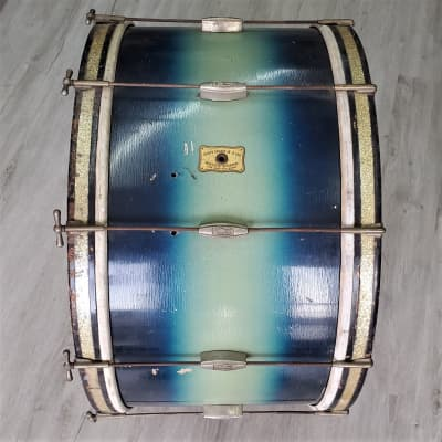"Rogers Vintage 27"" Bass Drum 1950s"