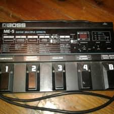 Boss ME-5 Guitar Multiple Effects 1980s Black