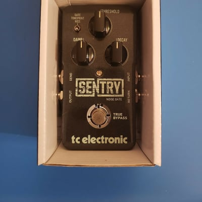 MINT IN BOX! TC Electronic Sentry Noise Gate