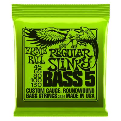 Ernie Ball Bass5 Regular Slinky 45-130
