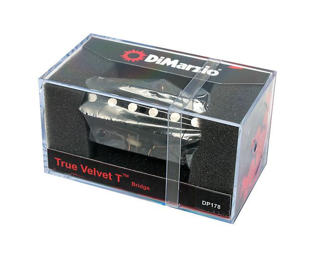 Dimarzio Dp178bk True Velvet T Bridge Pickup