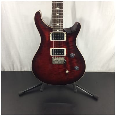 PRS CE 24 Solid Body Electric Guitar, Fire Red Burst