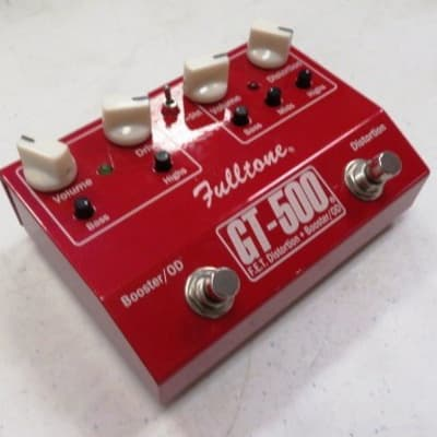 Fulltone GT500 Boost / Distortion Pedal