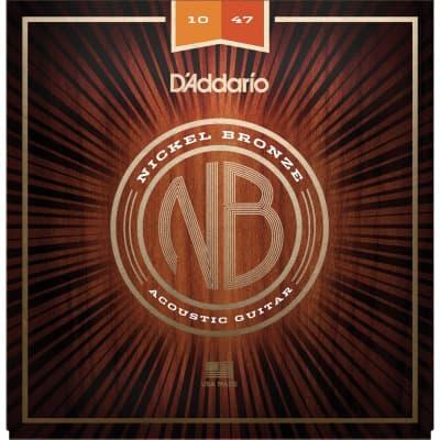 D´Addario Nickel Bronze Acoustic Strings NB1047 10-47
