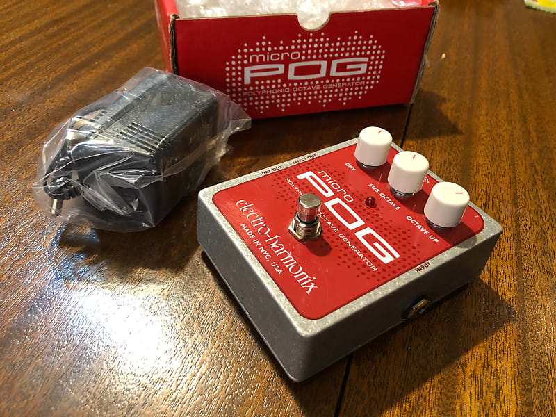 electro harmonix micro pog with ac adapter reverb. Black Bedroom Furniture Sets. Home Design Ideas