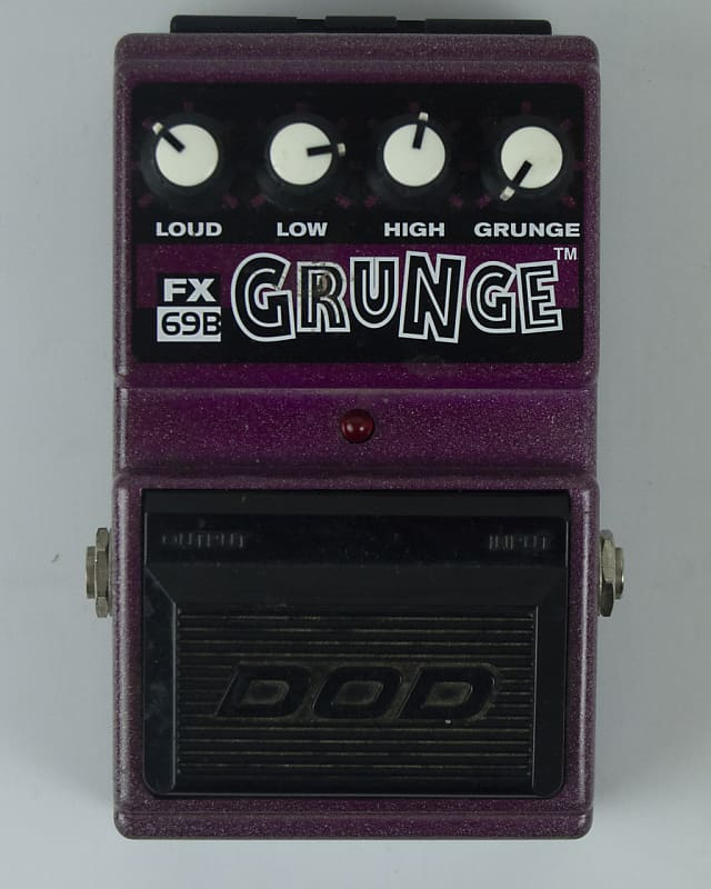 dod grunge pedal ryan fowler 39 s guitar experience reverb. Black Bedroom Furniture Sets. Home Design Ideas
