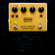MXR M287 Sub Octave Bass Fuzz Pedal - Free Shipping