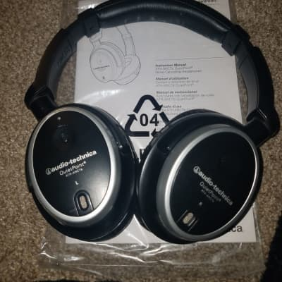 Audio-Technica Quiet Point 2020 Noise Cancelling Headphones / You cant get better headphones for $50