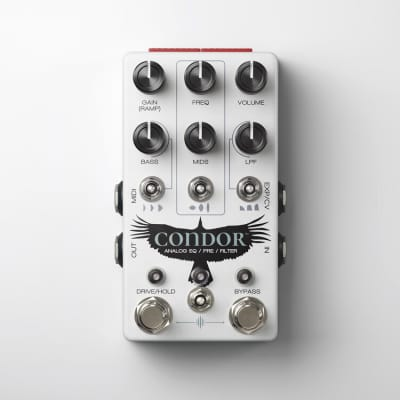 Chase Bliss Audio Condor Analog Multi-Effect EQ and Filter Pedal