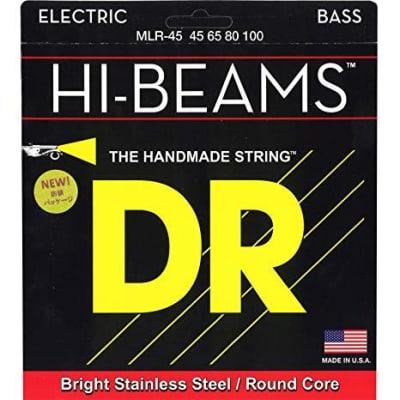DR Hi Beams Electric Bass Strings 45-100