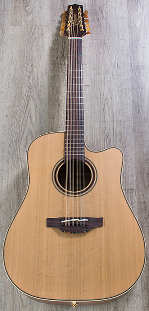Takamine P3dc12 12 String Dreadnought Acoustic Electric