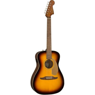 Fender Malibu Player Acoustic Electric Guitar in Sunburst