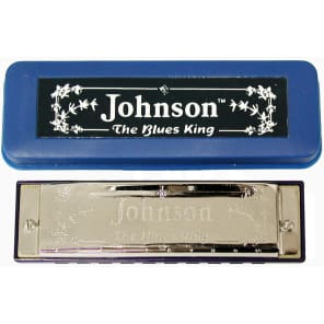 Johnson BK-520-G Blues King Harmonica - Key of G