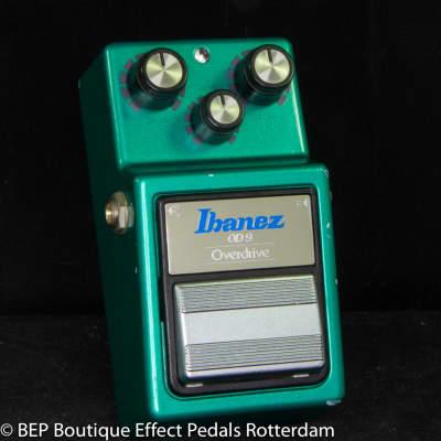 Ibanez OD-9 Overdrive 1981 Black Label s/n 162175 Japan