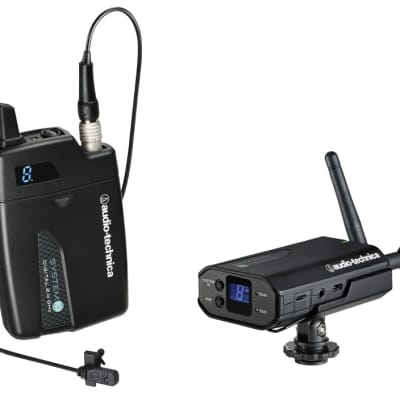 Audio-Technica ATW-1701/L -System 10 2.4GHz Wireless Camera Mount with Bodypack and MT830cW
