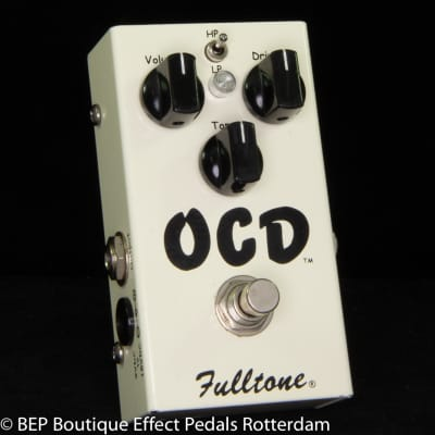 Fulltone OCD V1 Series 4 Obsessive Compulsive Drive s/n 16616, 2007 as used by Keith Richards