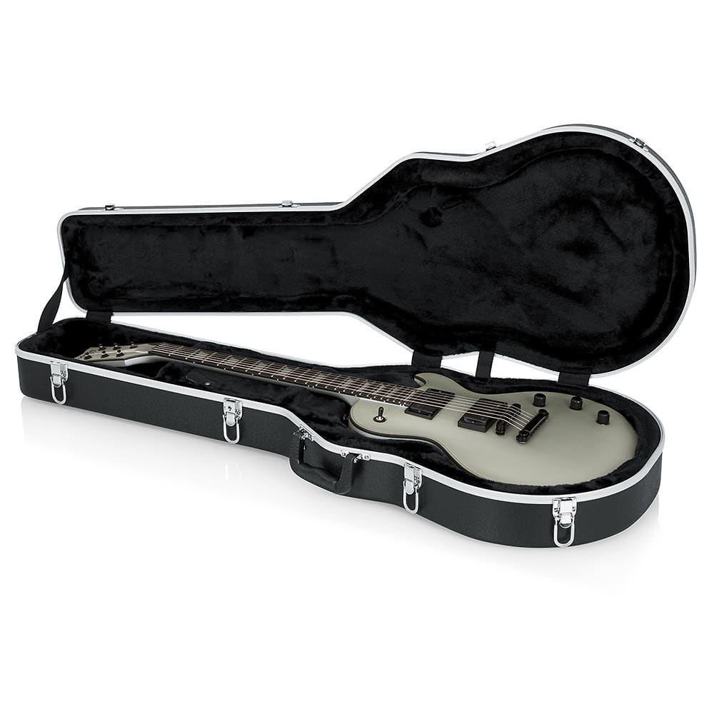 gator cases les paul style hard case reverb. Black Bedroom Furniture Sets. Home Design Ideas