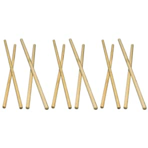 "Latin Percussion LP248C 7/16"" Hickory Timbale Sticks (6 Pairs)"
