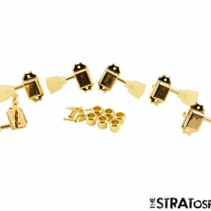 NEW Kluson Traditional GOLD PEARL 3x3 TUNERS for Gibson Vintage Guitar SD90SLG