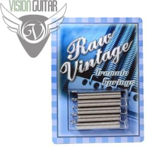 Raw Vintage RVTS-1 Tremolo Spring Set (5 Pieces) 1950's Strat Tone!