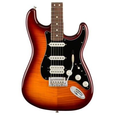 Fender Player Stratocaster HSS Plus Top Electric Guitar, Tobacco Sunburst