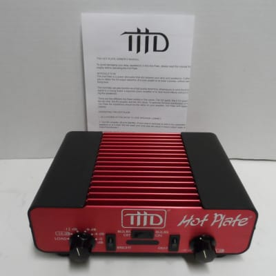 THD Hot Plate Power Attenuator 4 Ohm Red Hotplate Volume Control Load Box Amp Power Soak w Manual for sale