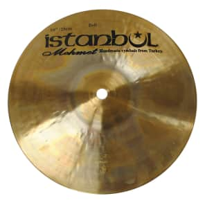 "Istanbul Mehmet 10"" Traditional Series Bell Cymbal"
