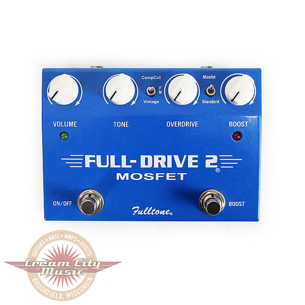 used fulltone fulldrive 2 mosfet overdrive clean boost pedal reverb. Black Bedroom Furniture Sets. Home Design Ideas