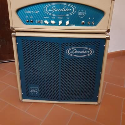 Speedster CLASS A 40  2x12 Head+Cabinet 2003 Cream for sale