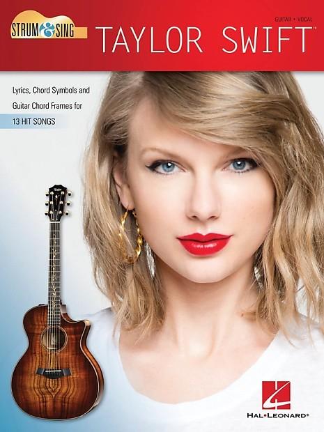 TAYLOR SWIFT - STRUM & SING GUITAR LYRICS/CHORDS SHEET | Reverb