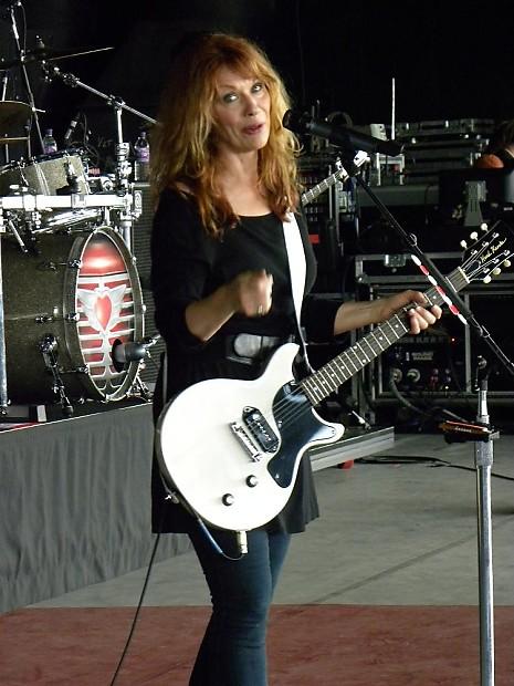 Reduced Hard Knocks Guitars Nancy Wilson Heart Tour Stage