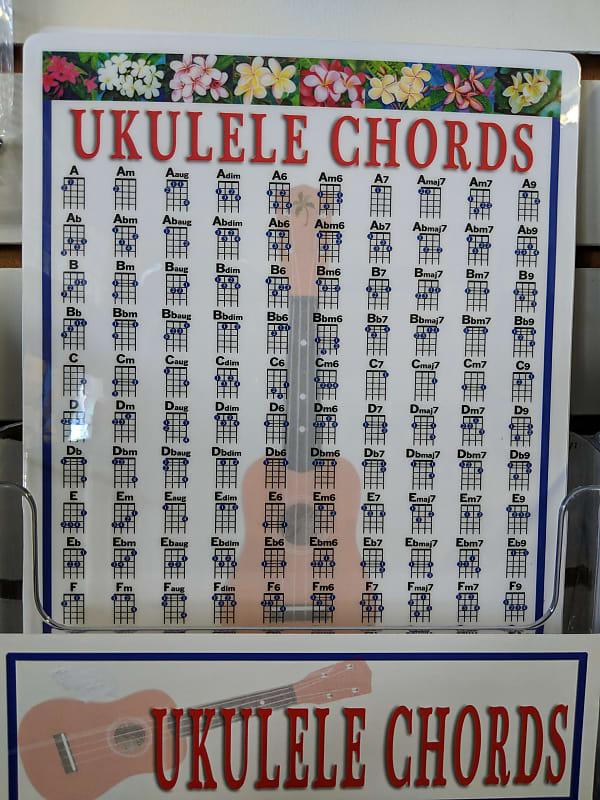 Walrus Productions UKULELE UKE CHORD CHART